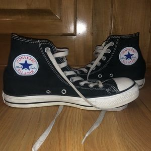 Black Converse AllStar Hightops